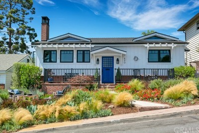 Laguna Beach Single Family Home For Sale: 470 Hawthorne Road