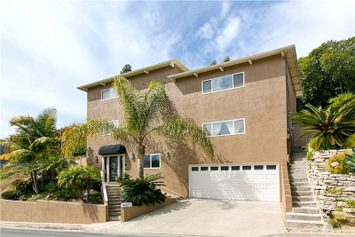 Laguna Beach Single Family Home For Sale: 1332 Cerritos Drive