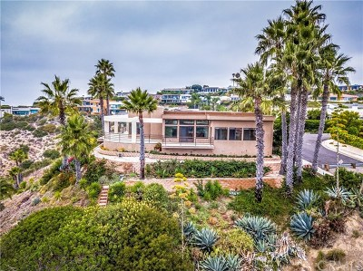 Laguna Beach Single Family Home For Sale: 1505 Coral Drive
