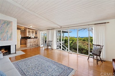 Laguna Beach Single Family Home For Sale: 1085 La Mirada Street