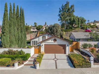 Mission Viejo Single Family Home For Sale: 26371 Via Conchita