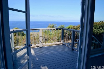 Laguna Beach Single Family Home For Sale: 32082 Coast