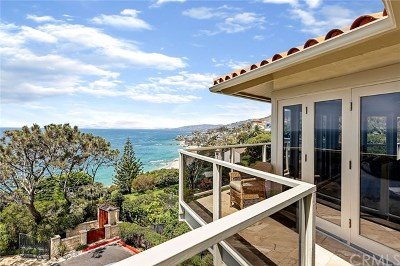 Laguna Beach Single Family Home For Sale: 49 N La Senda Drive