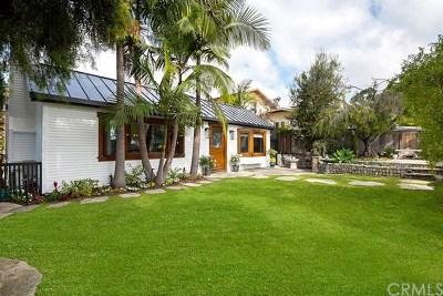 Laguna Beach Single Family Home For Sale: 444 Linden Street