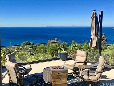 Laguna Beach Single Family Home For Sale: 31502 Mar Vista Avenue