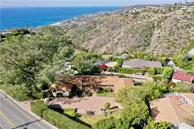 Laguna Beach Single Family Home For Sale: 1960 Temple Hills Drive