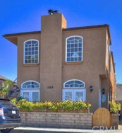 Newport Beach Rental For Rent: 1229 W Balboa Boulevard