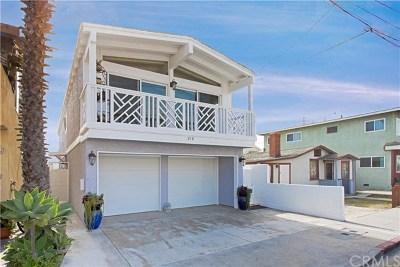 Newport Beach, Newport Coast, Corona Del Mar Multi Family Home For Sale: 216 21st Street
