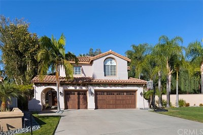 Rancho Santa Margarita Single Family Home For Sale: 21 Buenaventura