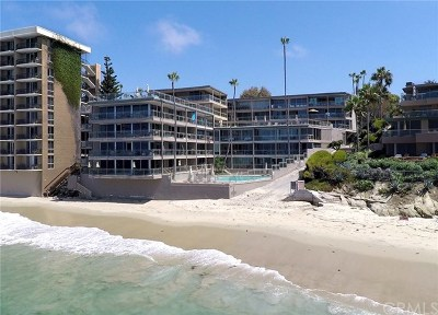 Laguna Beach Condo/Townhouse For Sale: 1585 S Coast #4