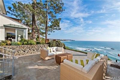 Laguna Beach Single Family Home Active Under Contract: 104 S La Senda Drive