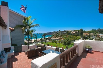 Laguna Beach Single Family Home Active Under Contract: 52 Emerald Bay