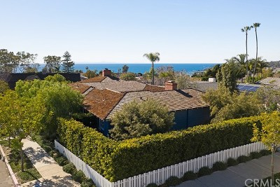 Laguna Beach Single Family Home For Sale: 498 El Camino Del Mar