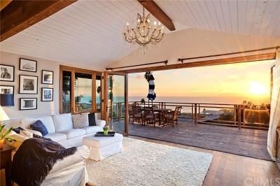 Laguna Beach Single Family Home For Sale: 2943 Rounsevel Terrace