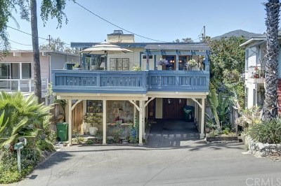 Laguna Beach Single Family Home For Sale: 31913 9th Avenue