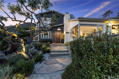 Laguna Beach Single Family Home For Sale: 31582 West Street
