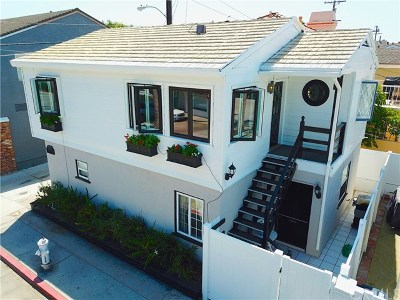 Newport Beach Single Family Home For Sale: 1305 Park Avenue