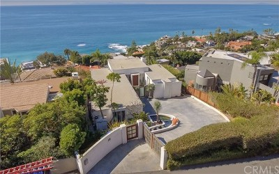 Laguna Beach Single Family Home For Sale: 31345 Holly Drive