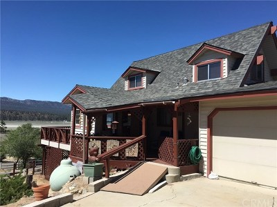 Big Bear Single Family Home For Sale: 1565 Baldwin Lake Drive