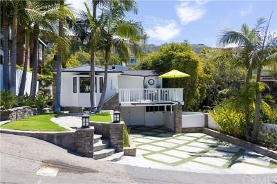 Laguna Beach Single Family Home For Sale: 31722 Scenic Drive