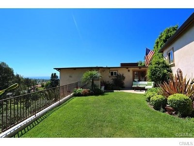 Laguna Beach Single Family Home For Sale: 549 Mystic Way