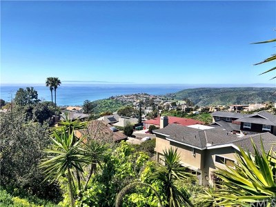 Laguna Beach Single Family Home For Sale: 3074 Cresta Way