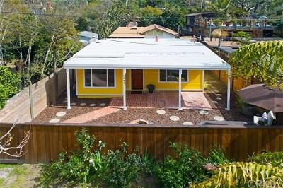 Laguna Beach Single Family Home For Sale: 1267 Fairywood Lane