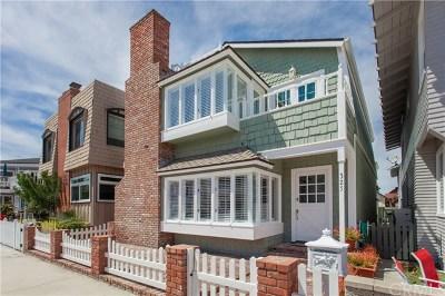 Newport Beach Single Family Home For Sale: 325 Alvarado Place