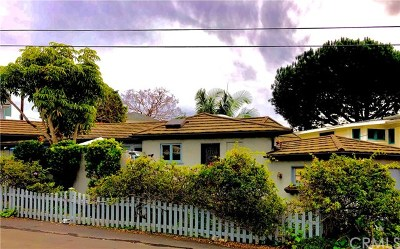 Laguna Beach Single Family Home For Sale: 611 Cress Street