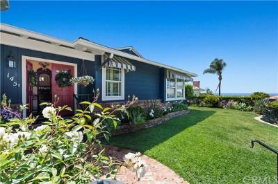 Laguna Beach Single Family Home For Sale: 145 McKnight Drive