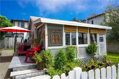Laguna Beach Single Family Home For Sale: 1446 Santa Cruz Street