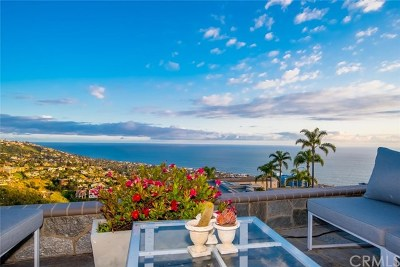 Laguna Beach Single Family Home For Sale: 1405 Coral Drive