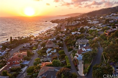 Laguna Beach Single Family Home For Sale: 31321 Brooks Street