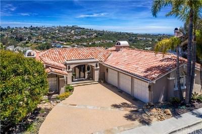 San Clemente Single Family Home For Sale: 10 Tesoro