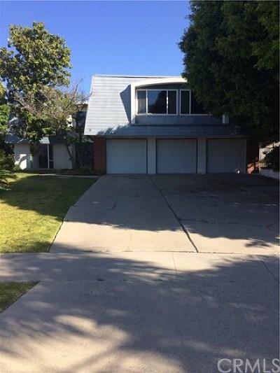 Fullerton Single Family Home Active Under Contract: 1709 Calavera Place