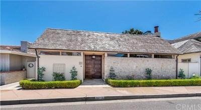 Newport Beach Single Family Home For Sale: 210 Via Genoa