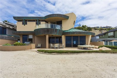 Dana Point Single Family Home For Sale: 35505 Beach Road