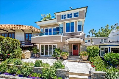 Balboa Island - Main Island (Balm) Single Family Home For Sale: 109 N Bay Front