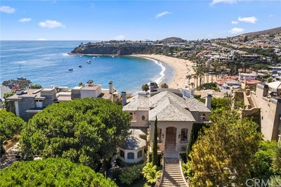 Laguna Beach Single Family Home For Sale: 17 Smithcliffs Road