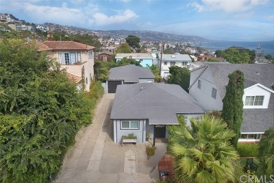 Laguna Beach Multi Family Home For Sale: 245 Chiquita Street