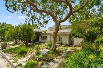 Laguna Beach Single Family Home For Sale: 1278 Morningside Drive