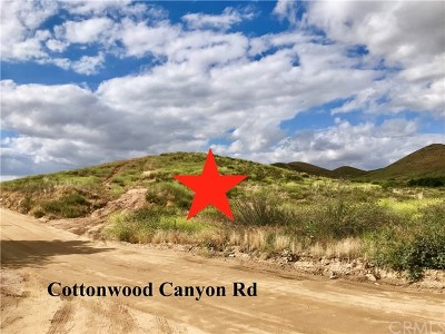 Wildomar Residential Lots & Land For Sale: 5 Cottonwood Canyon Road