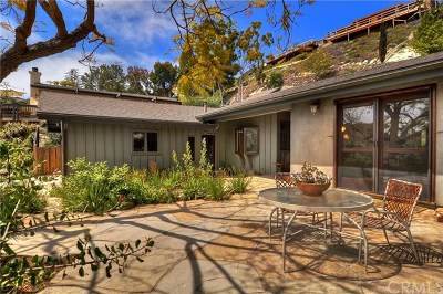 Laguna Beach Single Family Home For Sale: 3161 Bern Drive