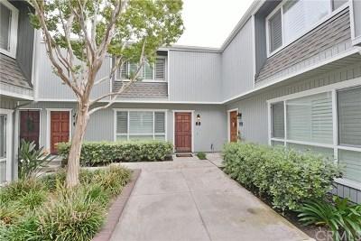 Newport Beach Condo/Townhouse For Sale: 39 Seascape Drive #58