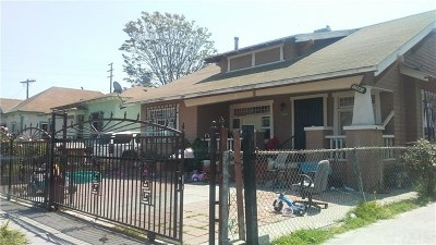 Los Angeles Multi Family Home For Sale: 1266 E 50th Street
