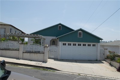 Los Angeles Single Family Home For Sale: 1876 Heidleman Road