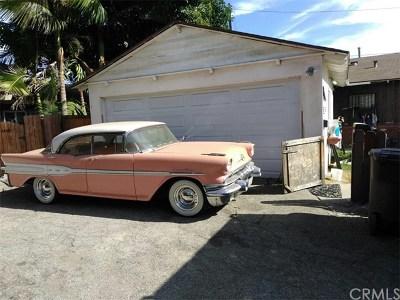 El Monte Single Family Home For Sale: 4438 Cypress Avenue