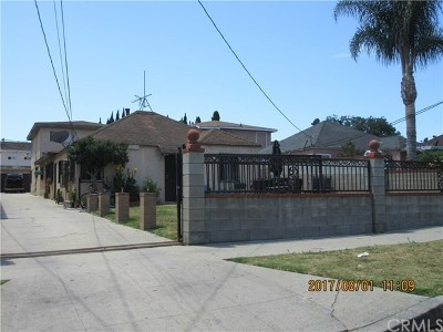 Torrance Multi Family Home For Sale: 1612 W 226th Street
