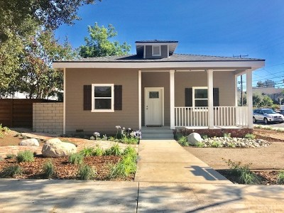 San Dimas Single Family Home For Sale: 624 N Monte Vista Avenue