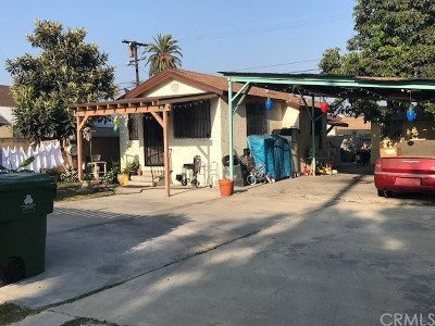 Los Angeles Single Family Home Active Under Contract: 9326 Graham Avenue